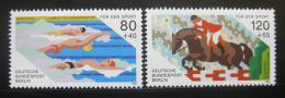 Poštovní známky Západní Berlín 1986 Mistrovství Mi# 751-52 Kat 5€