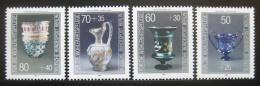 Poštovní známky Západní Berlín 1986 Umìní, sklo Mi# 765-68 Kat 7.50€