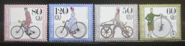 Poštovní známky Nìmecko 1985 Stará kola Mi# 1242-45 Kat 7€
