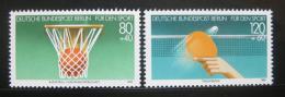 Poštovní známky Západní Berlín 1985 Sporty Mi# 732-33 Kat 4.80€