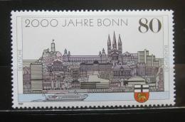 Poštovní známka Nìmecko 1989 Bonn Mi# 1402