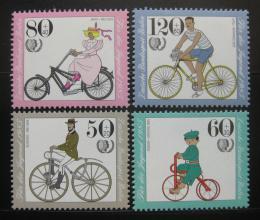 Poštovní známky Západní Berlín 1985 Kola Mi# 735-38 Kat 9.50€