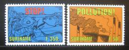 Poštovní známky Surinam 1994 Ochrana pøírody Mi# 1475-76 Kat 14€