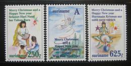 Poštovní známky Surinam 1994 Vánoce Mi# 1497-99