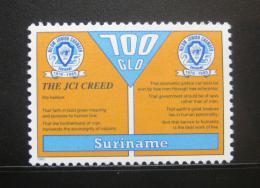 Poštovní známka Surinam 1995 Výroèí NILOM Mi# 1523