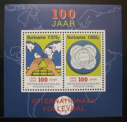 Poštovní známky Surinam 1995 Volejbal Mi# Block 65