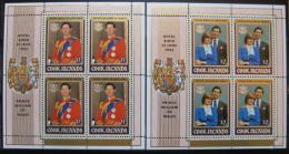 Poštovní známky Cookovy ostrovy 1982 Královská svatba Mi# 818-21 Kat 75€