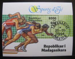 Poštovní známka Madagaskar 1994 Bìh Mi# Block 262