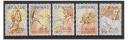 Poštovní známky Surinam 1981 Velikonoce Mi# 938-42