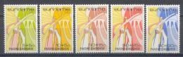 Poštovní známky Surinam 1986 Velikonoce Mi# 1172-76
