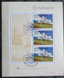 Poštovní známky Azory 1983 Evropa CEPT Mi# Block 4