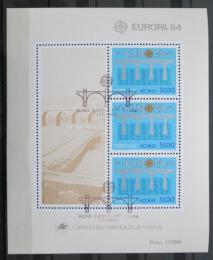 Poštovní známky Azory 1984 Evropa CEPT Mi# Block 5