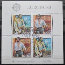 Poštovní známky Portugalsko 1980 Evropa CEPT Mi# Block 29