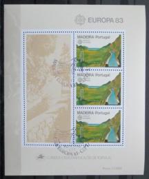Poštovní známky Madeira 1983 Evropa CEPT Mi# Block 4