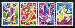 Poštovní známky Surinam 1992 Vánoce Mi# 1422-25
