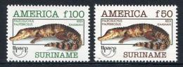 Poštovní známky Surinam 1993 Kajmani Mi# 1455-56 Kat 15€