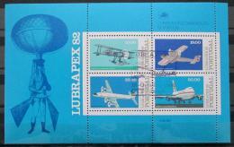 Poštovní známky Portugalsko 1982 Letadla Mi# Block 37