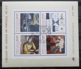 Poštovní známky Portugalsko 1985 Kachlièky Mi# Block 49