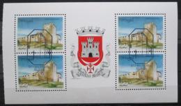 Poštovní známky Portugalsko 1986 Hrad Belmonte Mi# 1699 MH