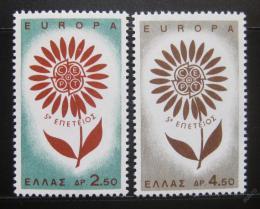 Poštovní známky Øecko 1964 Evropa CEPT Mi# 858-59