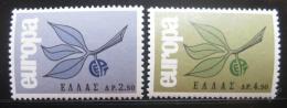 Poštovní známky Øecko 1965 Evropa CEPT Mi# 890-91