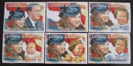 Poštovní známky Antigua 2004 Královna Juliana Mi# 4158-63