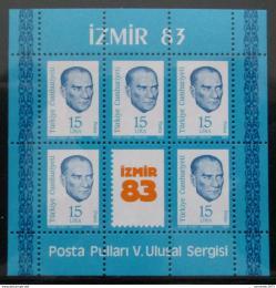 Poštovní známky Turecko 1983 Kemal Atatürk Mi# Block 23