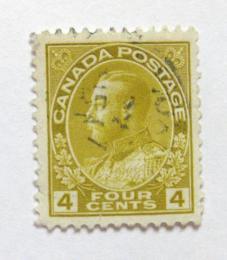 Poštovní známka Kanada 1922 Král Jiøí V Mi# 108