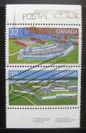 Poštovní známky Kanada 1983 Pevnosti Mi# 877,882