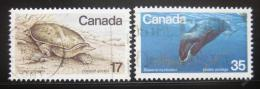 Poštovní známky Kanada 1979 Ohrožená zvíøata Mi# 722-23