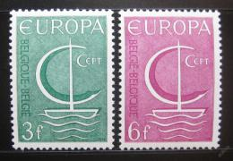 Poštovní známky Belgie 1966 Evropa CEPT Mi# 1446-47