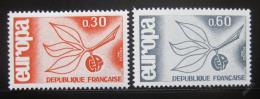 Poštovní známky Francie 1965 Evropa CEPT Mi# 1521-22