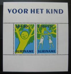 Poštovní známky Surinam 1992 Dìtské kresby Mi# Block 59