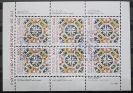 Poštovní známky Portugalsko 1982 Ozdobné kachlièky Mi# 1557