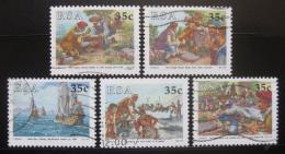 Poštovní známky JAR 1992 Den známek Mi# 834-38