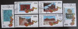 Poštovní známky Èad 2000 Rok draka Mi# 1987-92