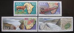 Poštovní známky JAR 1990 Spolupráce v jiøní Africe Mi# 789-92