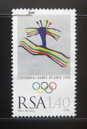 Poštovní známka JAR 1996 LOH Atlanta Mi# 1010