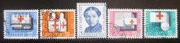 Poštovní známky Švýcarsko 1963 Èervený køíž Mi# 775-79