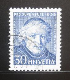 Poštovní známka Švýcarsko 1933 Jean B. Girard Mi# 269 Kat 11€
