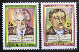 Poštovní známky Rakousko 1994 Spisovatelé Mi# 2136-37