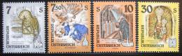 Poštovní známky Rakousko 1994 Náboženské umìní, kompletní roèník