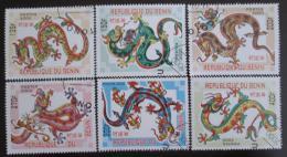 Poštovní známky Benin 2000 Nový rok, Rok draka