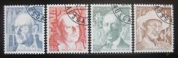 Poštovní známky Švýcarsko 1979 Osobnosti Mi# 1146-49