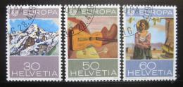 Poštovní známky Švýcarsko 1975 Evropa CEPT Mi# 1050-52