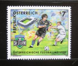 Poštovní známka Rakousko 1999 Sturm Graz Mi# 2278