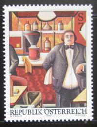 Poštovní známka Rakousko 1999 Umìní, W. Herzig Mi# 2296