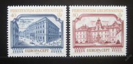 Poštovní známky Lichtenštejnsko 1978 Evropa CEPT Mi# 692-93