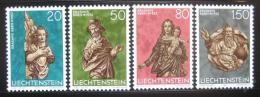 Poštovní známky Lichtenštejnsko 1977 Sochy Mi# 688-91