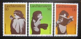 Poštovní známky Lichtenštejnsko 1979 Mezinárodní rok dìtí Mi# 725-27